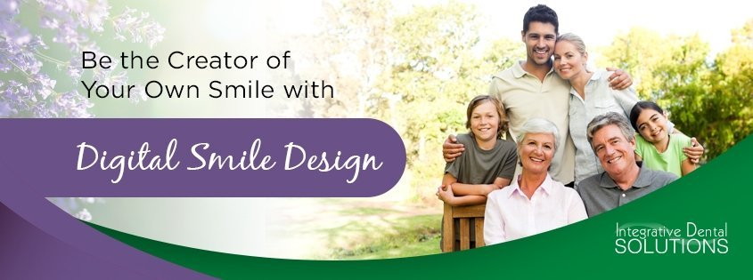 digital smile design at integrative dental solutions